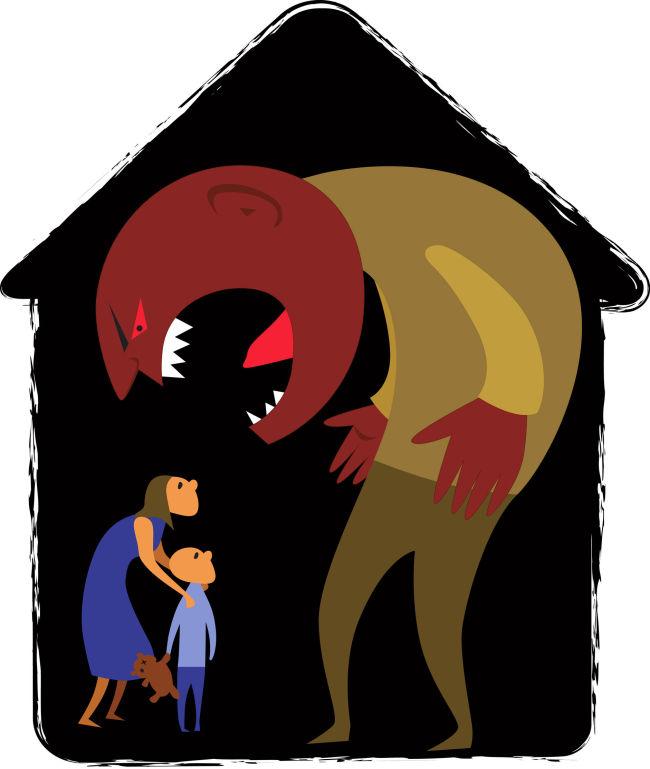Моральное насилие женщины в семье