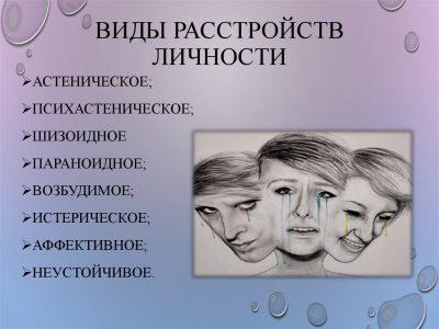 Расстройство личности