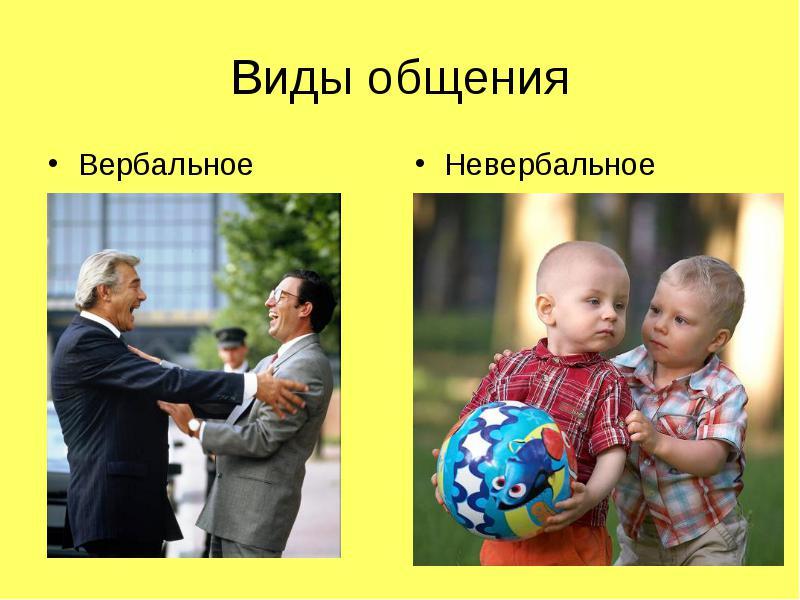 Вербальное общение – особенности, виды. Невербальное и вербальное общение